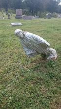 falling statuary